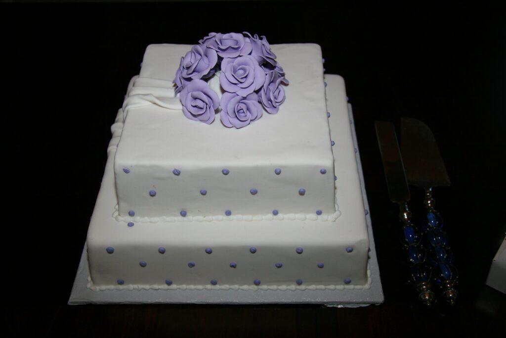 Szögletes torta
